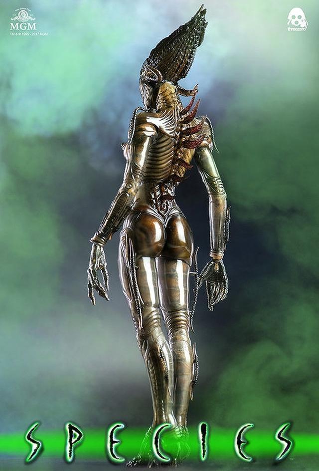 画像6: 美しくもグロテスクな女性型エイリアン「シル」が1/6スケールで可動フィギュア化!