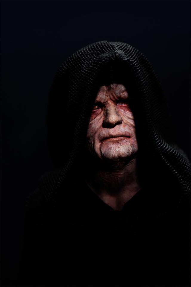 画像3: まるで本物!?  最大の悪役として猛威を振るったダース・シディアスこと銀河帝国の皇帝パルパティーンが君臨!