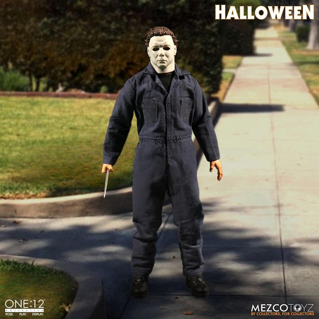 画像1: 「ハロウィン」からマイケル・マイヤーズが 劇中の不気味な印象そのままにフィギュア化!