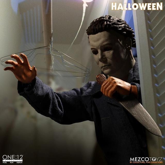 画像3: 「ハロウィン」からマイケル・マイヤーズが 劇中の不気味な印象そのままにフィギュア化!
