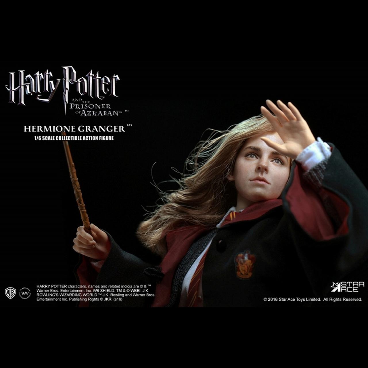 画像1: 「ハリー・ポッターとアズカバンの囚人」より、 エマ・ワトソン演じるハーマイオニーを、ハンドペイントで丁寧に塗装したフィギュアが発売に!!