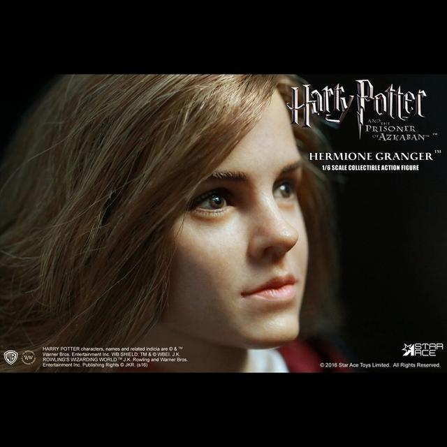 画像4: 「ハリー・ポッターとアズカバンの囚人」より、 エマ・ワトソン演じるハーマイオニーを、ハンドペイントで丁寧に塗装したフィギュアが発売に!!