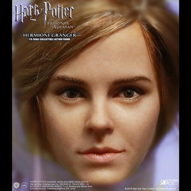 画像3: 「ハリー・ポッターとアズカバンの囚人」より、 エマ・ワトソン演じるハーマイオニーを、ハンドペイントで丁寧に塗装したフィギュアが発売に!!