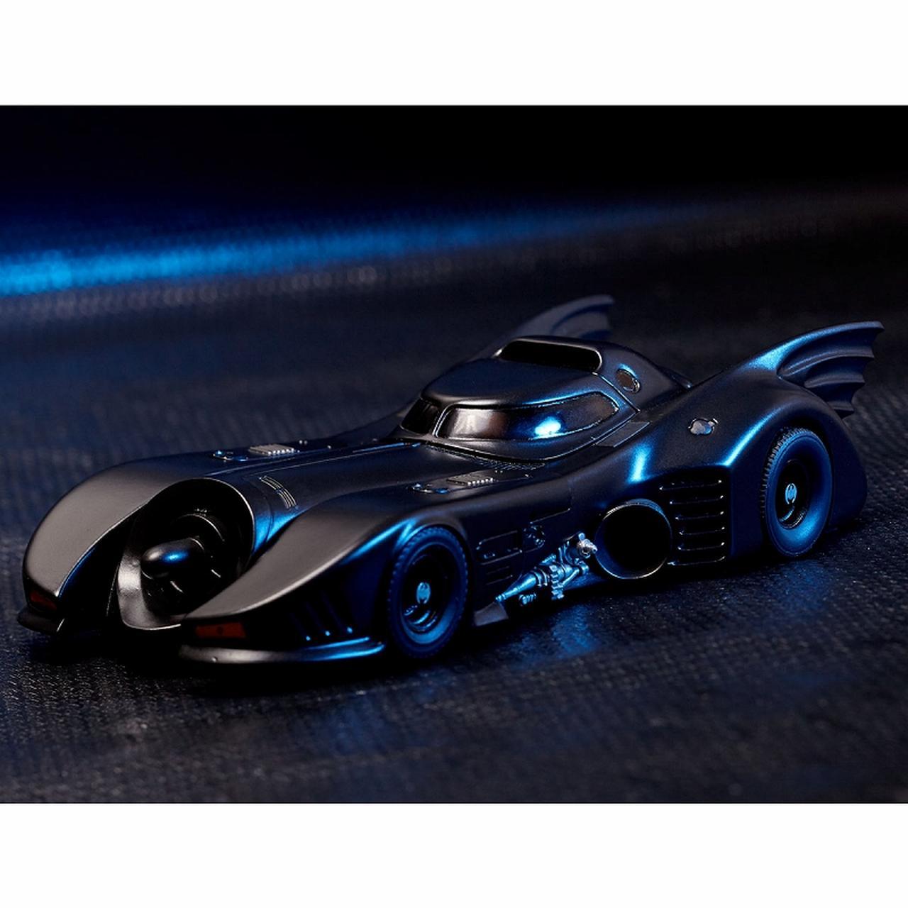 画像10: ティム・バートン監督作「バットマン」よりゴシック風デザイン、美しい流線型フォルを忠実に再現したバットモービルが発売!