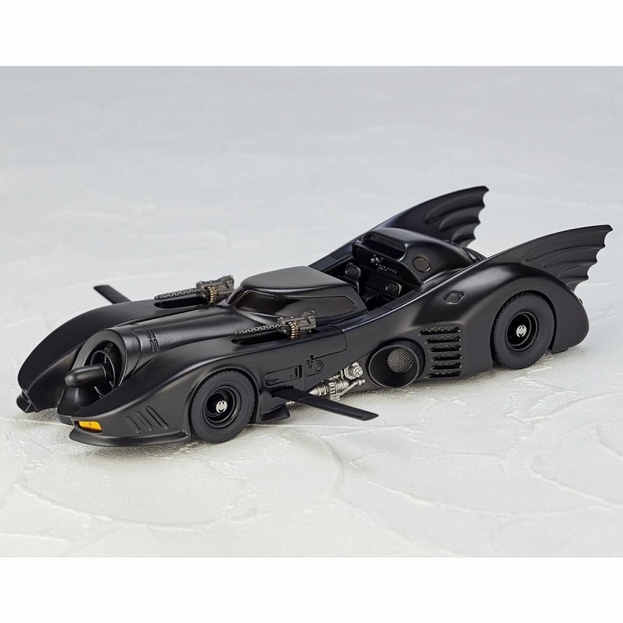 画像6: ティム・バートン監督作「バットマン」よりゴシック風デザイン、美しい流線型フォルを忠実に再現したバットモービルが発売!
