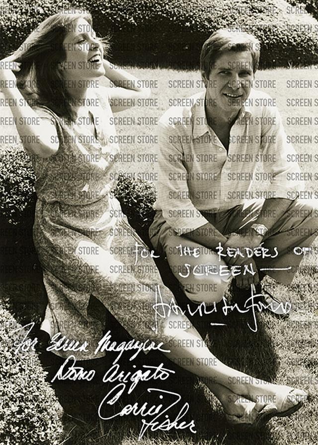 画像2: 1978年7月来日のキャリー・フィッシャー&ハリソン・フォード