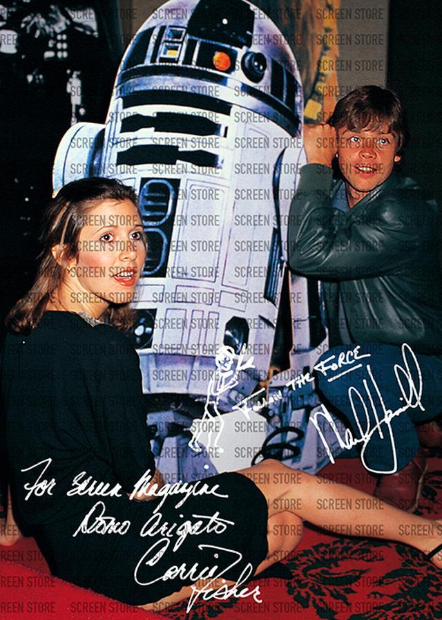 画像3: 1980年6月来日のキャリー・フィッシャー&マークハミル