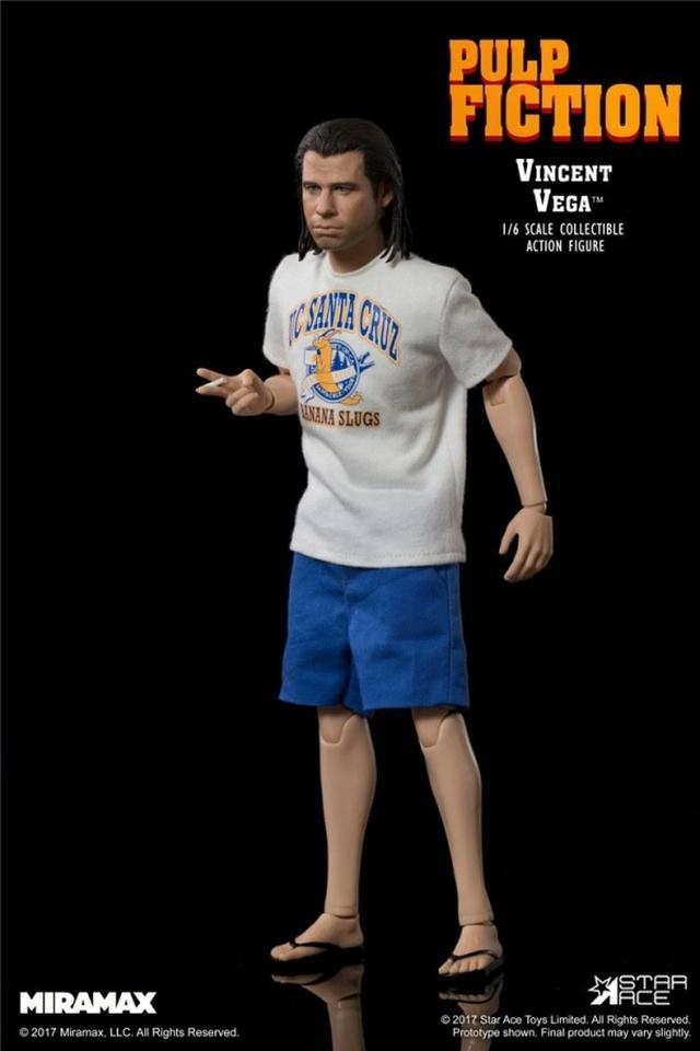 画像4: ヴィンセント・ベガ ジョン・トラボルタ 1/6スケール コレクタブルアクションフィギュア