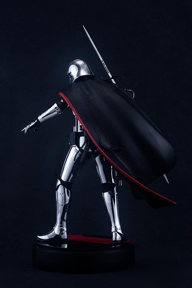 画像3: 特徴的なメタリックアーマーをメッキで表現したキャプテン・ファズマがARTFX」シリーズで登場!