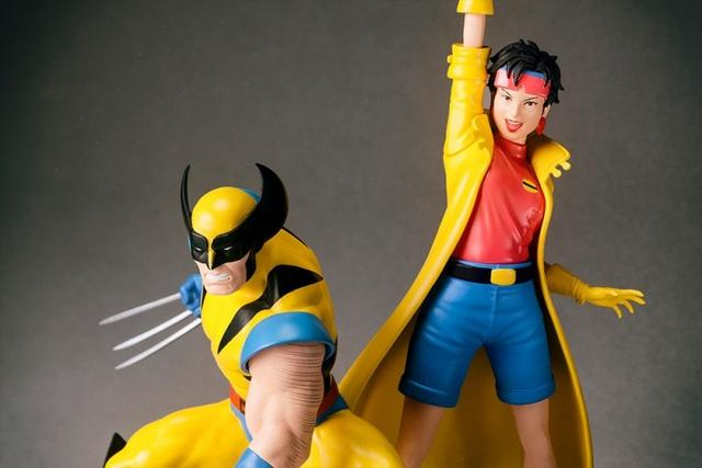 画像6: これぞX-MEN! クラシックなウルヴァリンと発火エナジーブラストを操るジュビリーがアニメカラーで立体化!