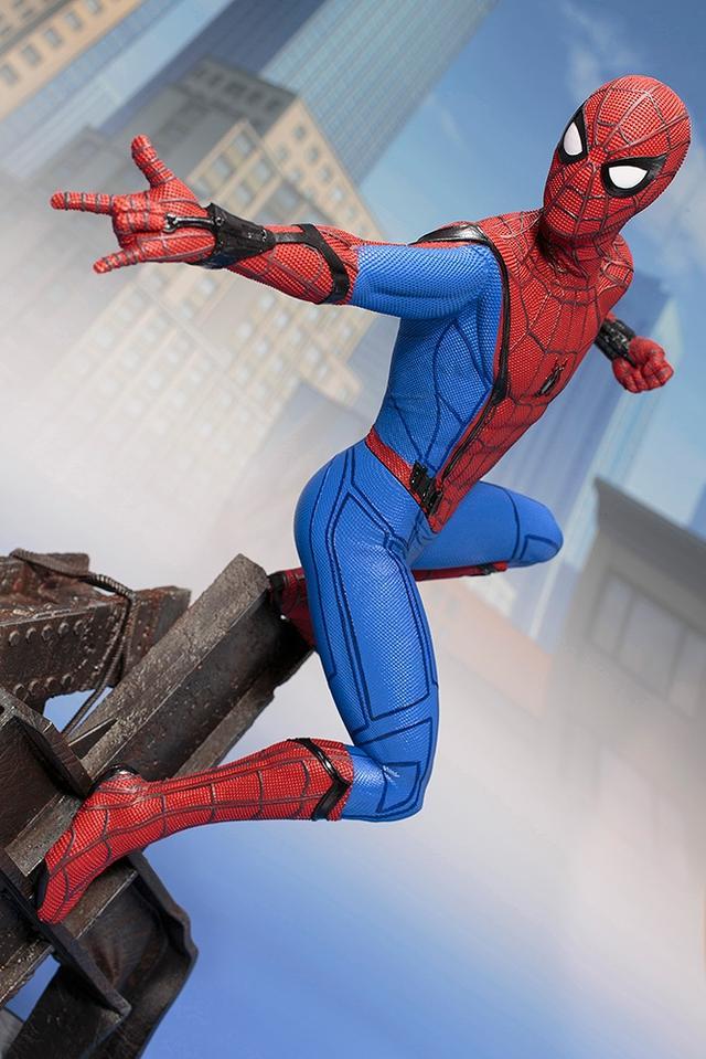 画像4: 「 スパイダーマン:ホームカミング 」ARTFX スパイダーマン 1/6 PVC