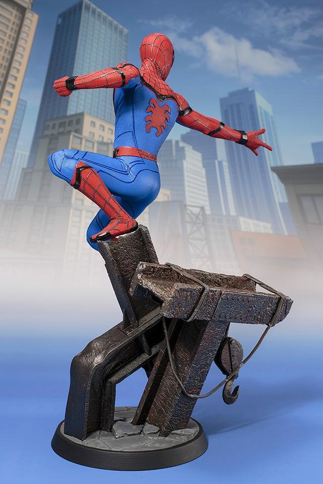 画像3: 「 スパイダーマン:ホームカミング 」ARTFX スパイダーマン 1/6 PVC