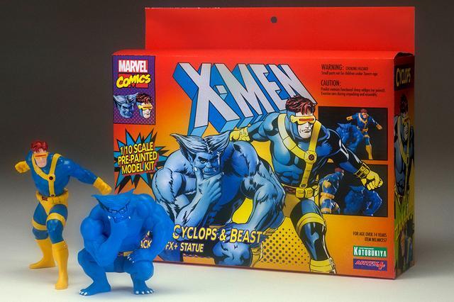 画像4: 「 X-MEN 」ARTFX+ サイクロプス&ビースト 2パック