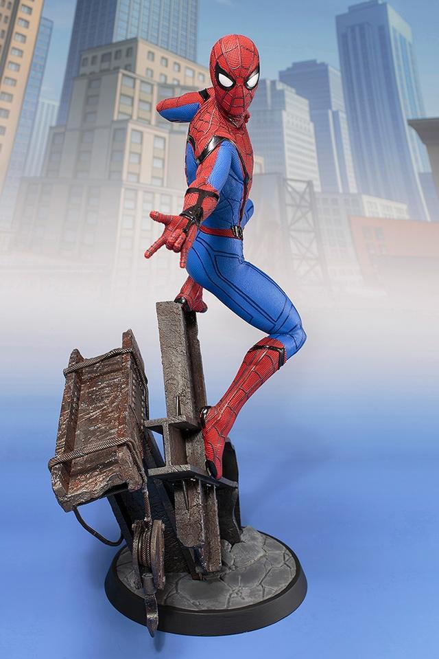 画像2: 「 スパイダーマン:ホームカミング 」ARTFX スパイダーマン 1/6 PVC