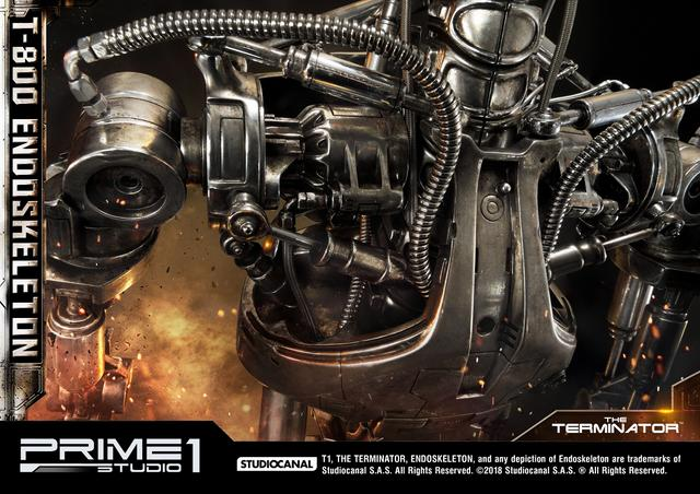画像4: SCREEN STOREでは「ターミネーター 」T-800 エンドスケルトン 1/2 スタチューを好評ご予約受付中です!