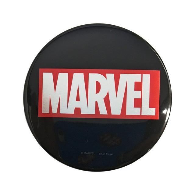 画像: マーベル 缶バッジ ロゴ http://screenstore.jp/shopdetail/000000002823/