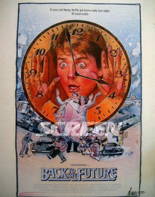 画像1: 「バック・トゥ・ザ・フューチャー」/ドゥルー・ストゥルーザン メイン・アートワーク(劇場ポスター用) コンセプト肉筆原画