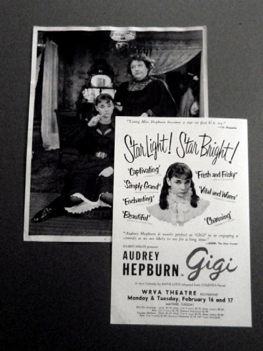 画像3: オードリー・ヘプバーン/直筆オートグラフ(WRVA劇場公演プログラム)
