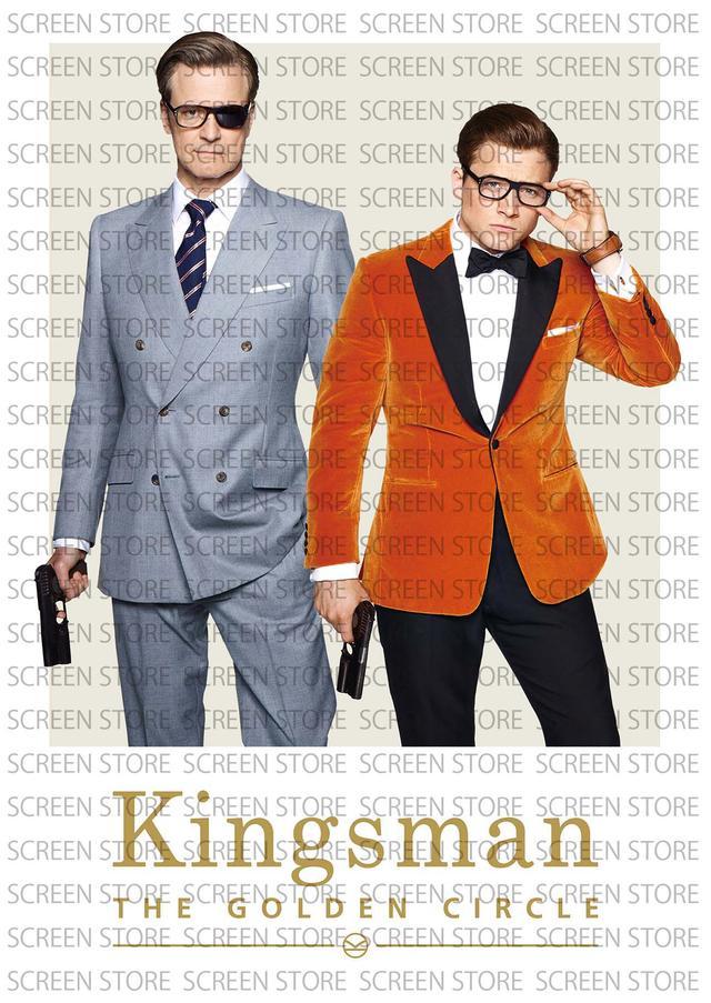 画像1: 「キングスマン:ゴールデン・サークル」クリアファイル:表