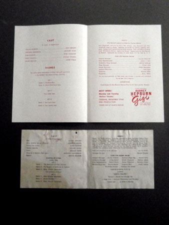 画像2: オードリー・ヘプバーン/直筆オートグラフ(WRVA劇場公演プログラム)