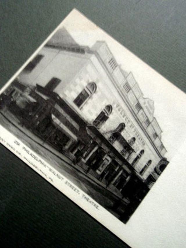 画像1: オードリー・ヘプバーン「GIGI」/第1回試演Walnut Theatreヴィンテージ・ポストカード