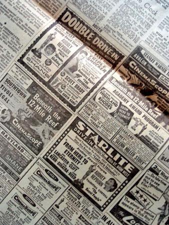 画像4: オードリー・ヘプバーン/「ニュース・ペーパー」シカゴ・デイリー他(1954年3月26日付)第26回アカデミー賞発表