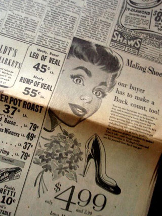 画像3: オードリー・ヘプバーン/「ニュース・ペーパー」シカゴ・デイリー他(1954年3月26日付)第26回アカデミー賞発表