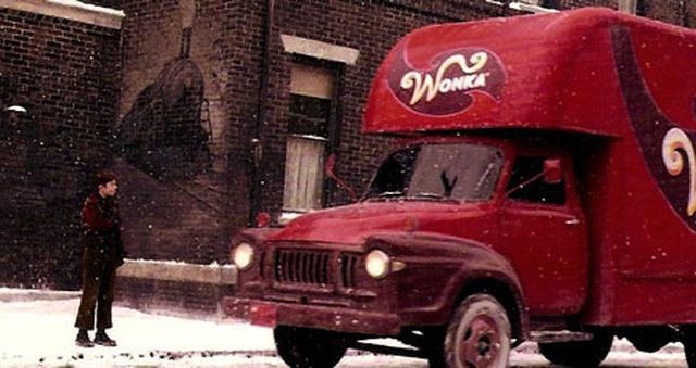 画像3: 「チャーリーとチョコレート工場」/ウォンカ・デリバリー・トラック / ナンバー・プレート(実使用)
