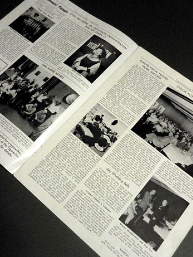 画像2: 「オードリー・ヘプバーン/パラマウント映画社社内報・スタジオ・ツアーパス(1950年代)