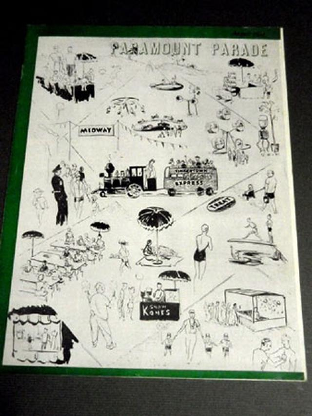 画像1: 「オードリー・ヘプバーン/パラマウント映画社社内報・スタジオ・ツアーパス(1950年代)