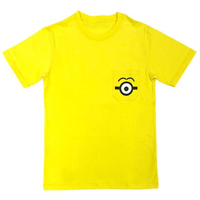 画像: 【入荷済】「 ミニオン 」 半袖Tシャツ ポケット ミニオン | シネマグッズ | SCREEN STORE