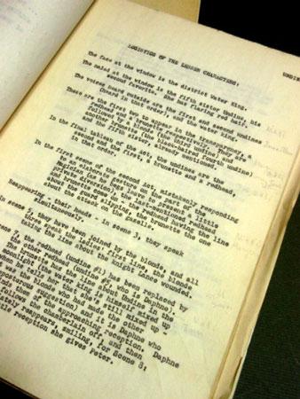 画像3: オードリー・ヘプバーン/「オンディーヌ」(1954) オリジナルスクリプト