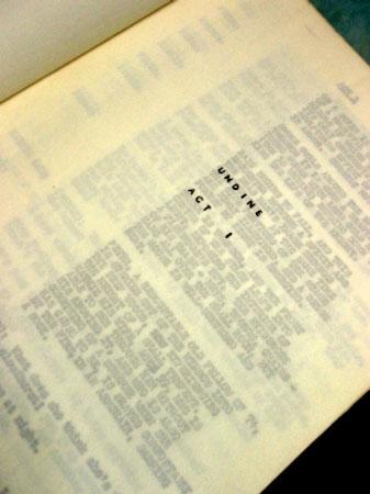 画像4: オードリー・ヘプバーン/「オンディーヌ」(1954) オリジナルスクリプト