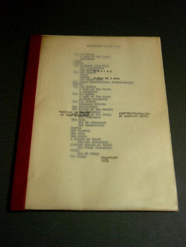 画像2: オードリー・ヘプバーン/「オンディーヌ」(1954) オリジナルスクリプト