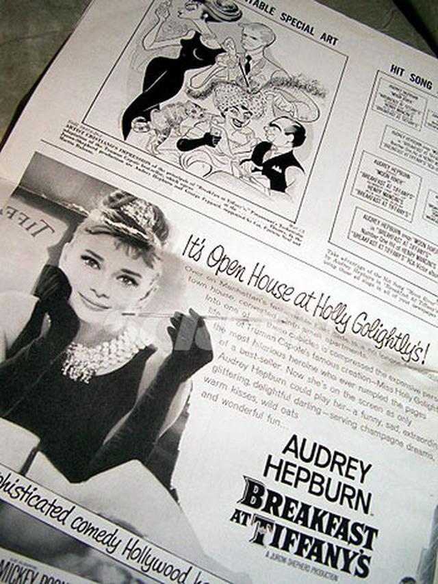 画像4: 「ティファニーで朝食を」(オードリー・ヘプバーン) マニュアル&プレスブック