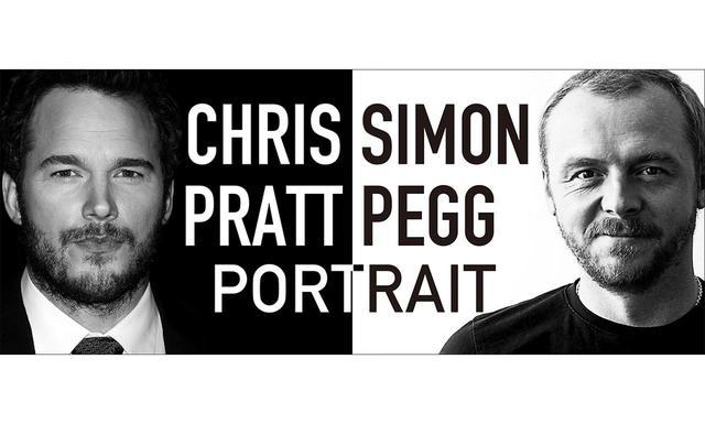 画像: クリス・プラット&サイモン・ペグのオリジナルポートレートがSCREEN STOREにて期間限定・独占販売中!