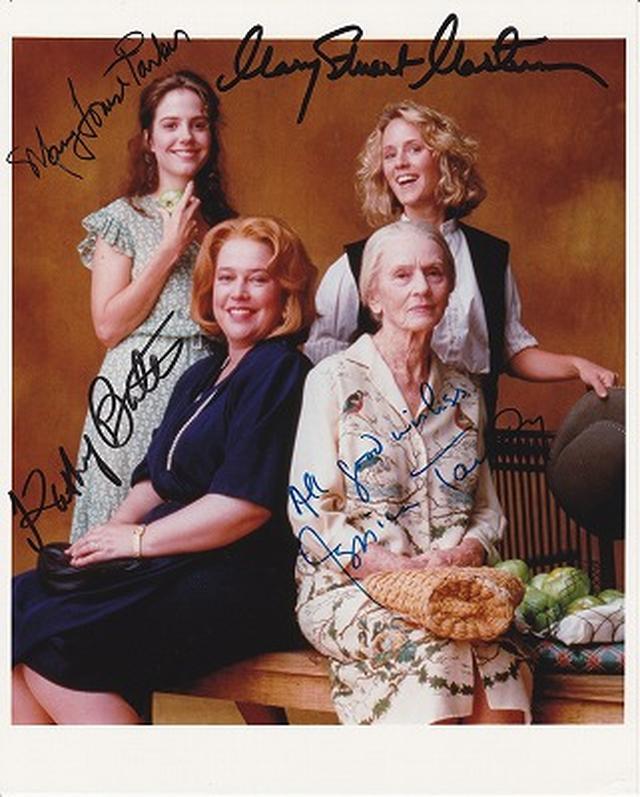 画像: キャシー・ベーツ、ジェシカ・タンディ、メアリー・スチュアート・マスターソン&メアリー=ルイーズ・パーカー 直筆オートグラフ