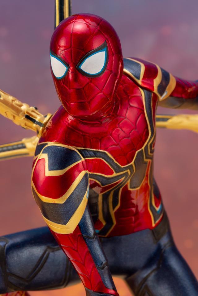 画像5: 「アベンジャーズ/インフィニティ・ウォー」のアイアン・スパイダーがコトブキヤのARTFXとして登場!