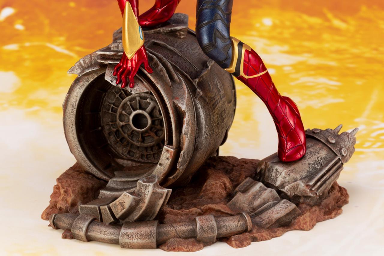画像6: 「アベンジャーズ/インフィニティ・ウォー」のアイアン・スパイダーがコトブキヤのARTFXとして登場!