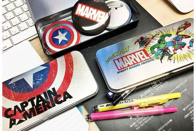 画像: キャプテンアメリカのシールドをモチーフとしたアイテム発売! その他マーベルコミックの熱いアイテム続々登場だ! - SCREEN ONLINE(スクリーンオンライン)