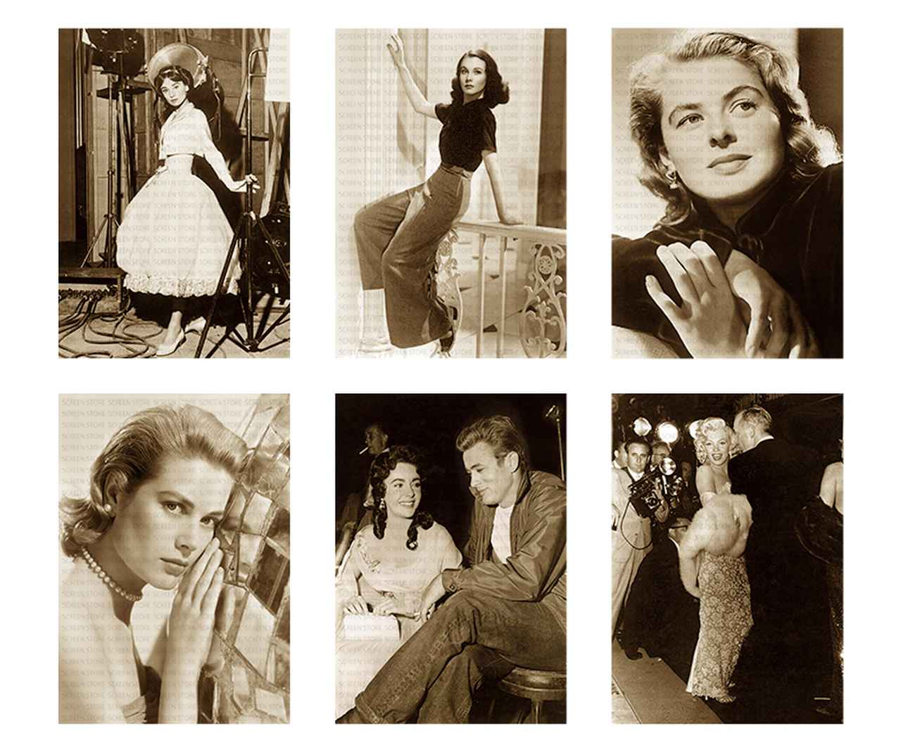 画像1: その他、ハリウッドの名女優たちの秘蔵写真がカレンダーとなって間もなく発売