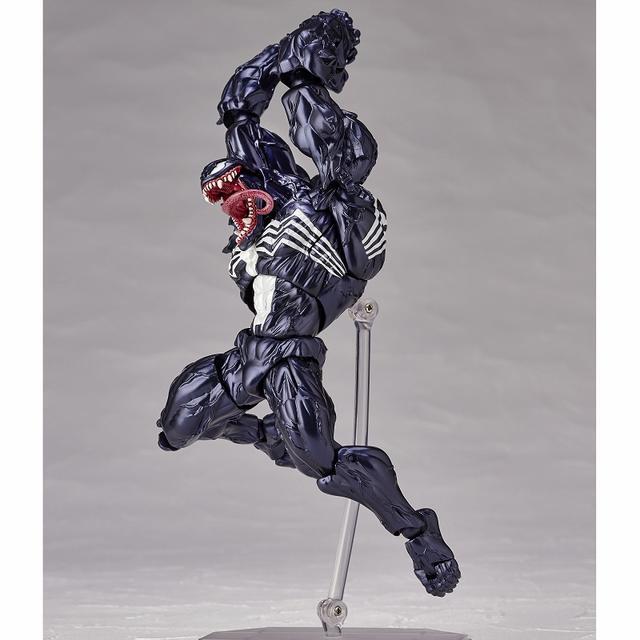 画像6: 「ヴェノム」の幅広い可動域を実現したリボルテックが再販決定! スパイダーマンを一回り大きくしたボディサイズはど迫力!