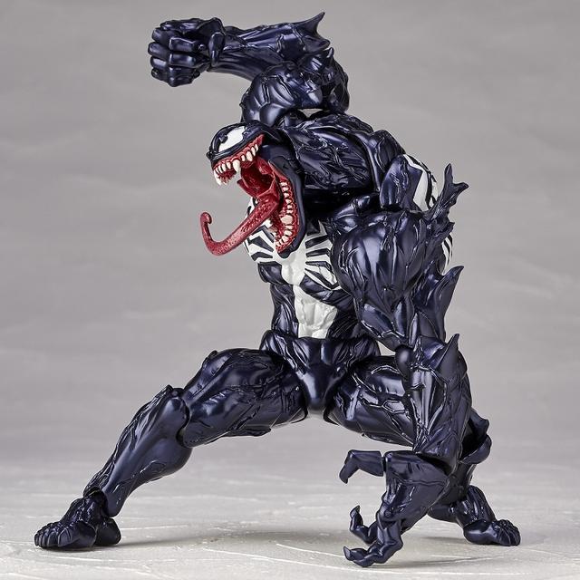 画像5: 「ヴェノム」の幅広い可動域を実現したリボルテックが再販決定! スパイダーマンを一回り大きくしたボディサイズはど迫力!