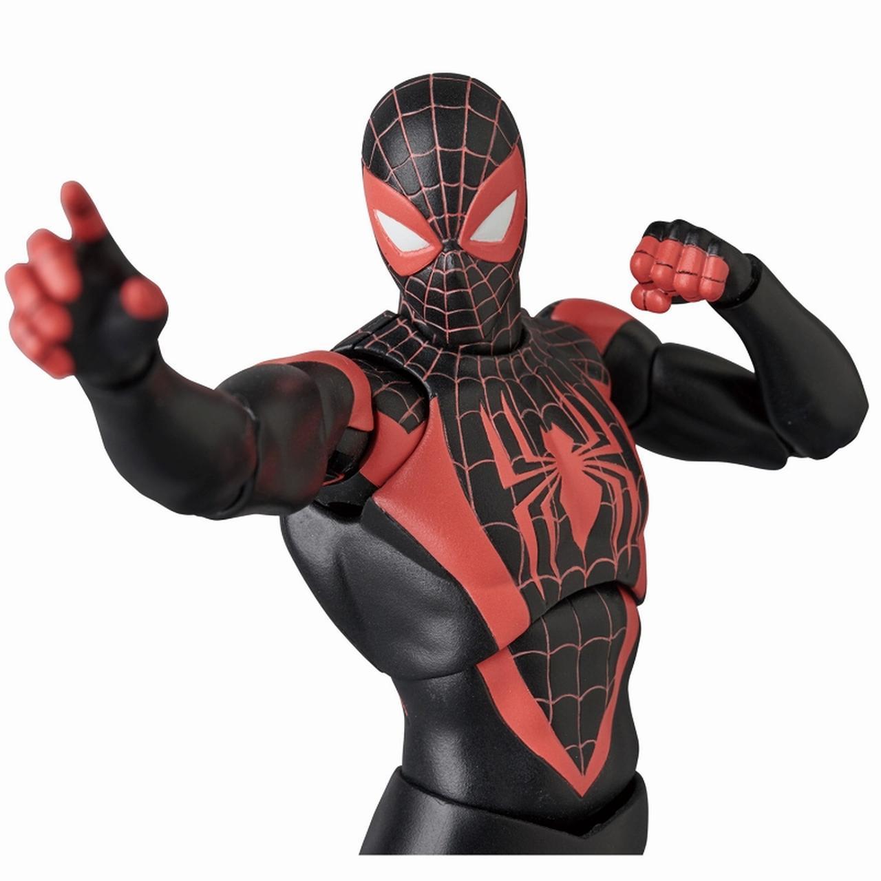 画像4: 「スパイダーマン」マフェックス(MAFEX)/ マーベルコミック:スパイダーマン マイルズ・モラレス