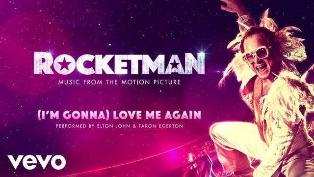 画像: Elton John, Taron Egerton - (I'm Gonna) Love Me Again (Audio) www.youtube.com