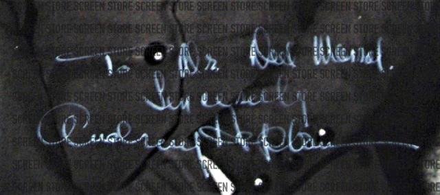 画像2: オードリー・ヘプバーン 生誕90周年記念 特別商品【直筆オートグラフ】好評発売中!