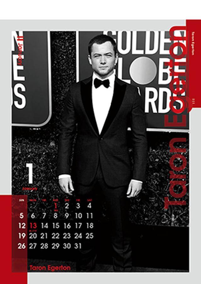 画像1: 《送料無料》英国男優カレンダー2020