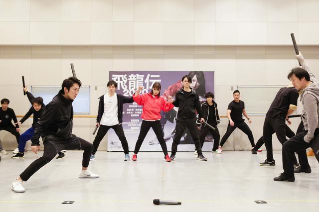 画像: 稽古場公開でのインタビュー(1月14日)