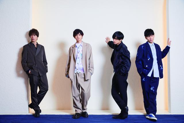 画像: 左から:藤原樹、吉野北人、川村壱馬、長谷川慎(THE RAMPAGE from EXILE TRIBE)