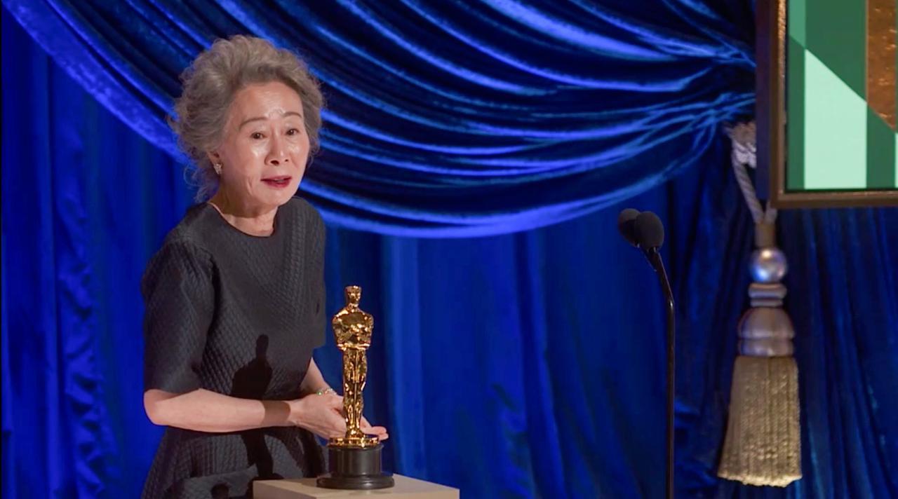 画像: 助演女優賞のユン・ヨジョン Getty Images